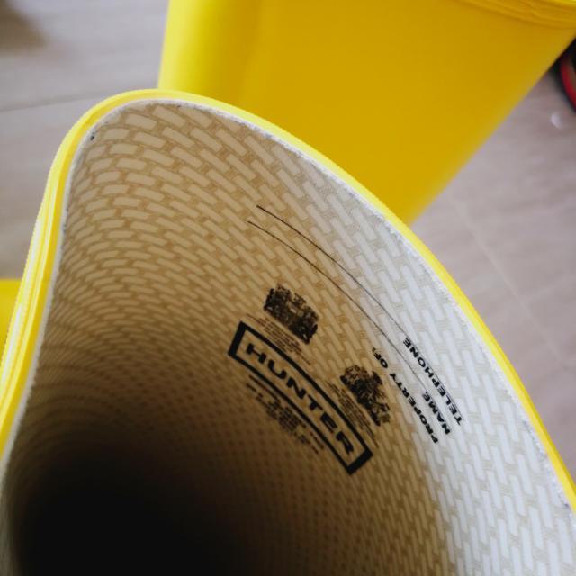 Hunter水鞋