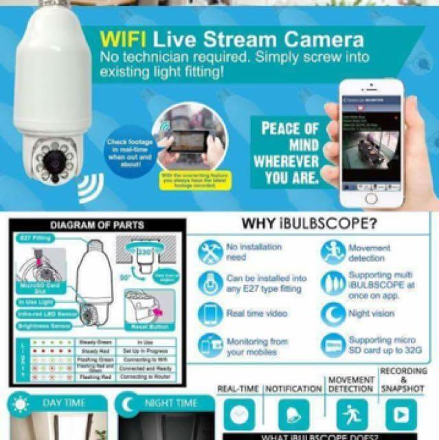 iBULBSCOPE CCTV