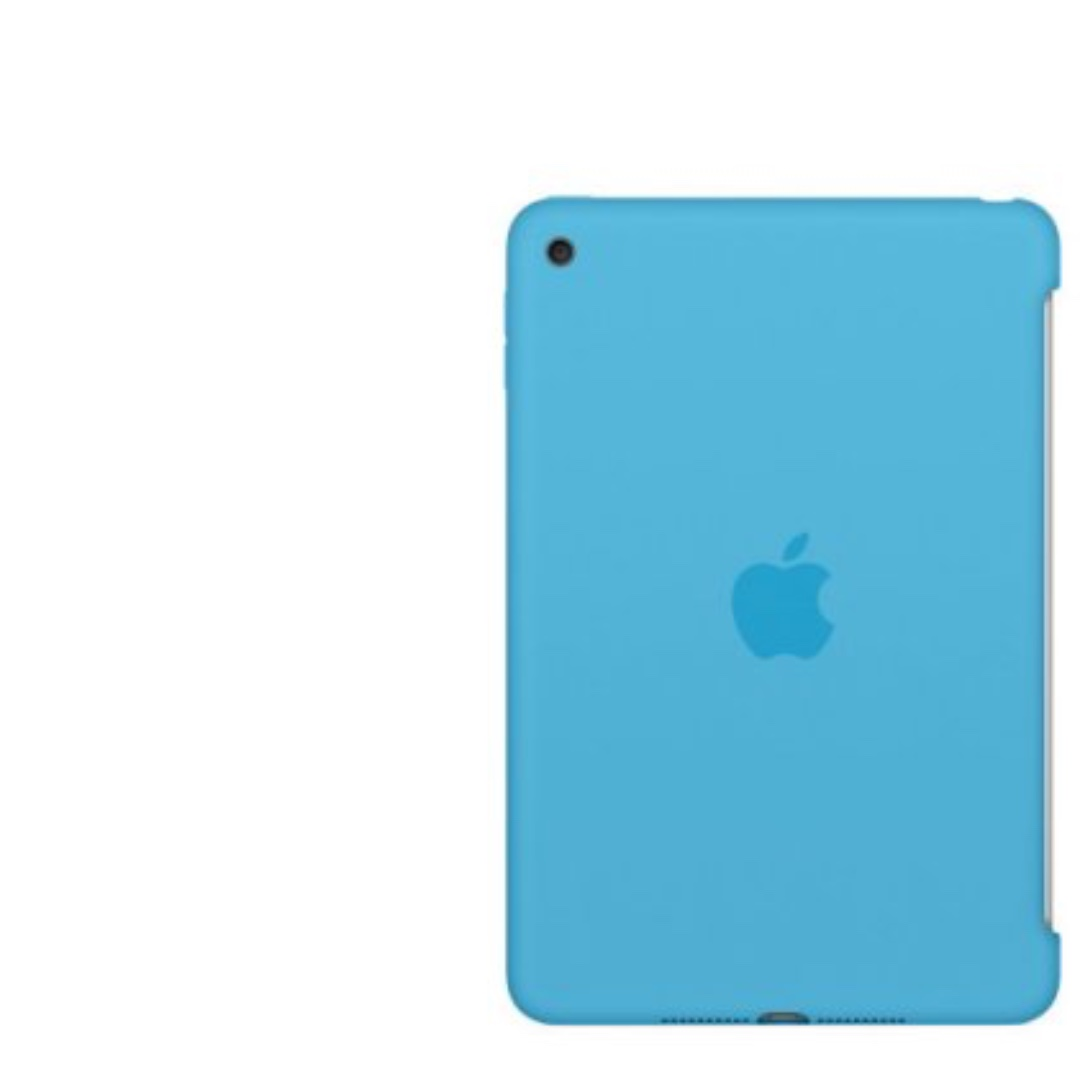 iPad Mini4 原廠殼Silicone Case Blue