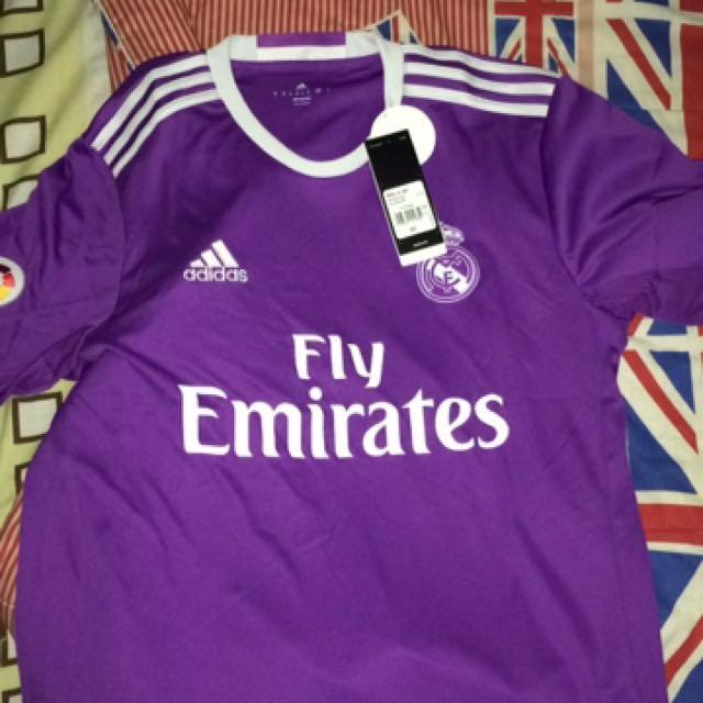 Jersey Real Madrid Away 1617 Original Size Medium
