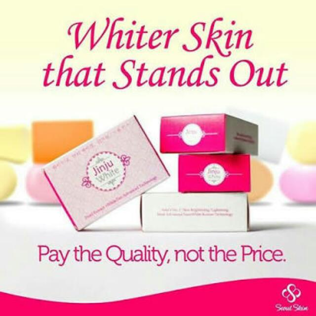 JINJU WHITENING SOAP
