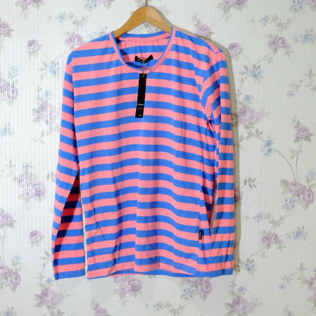 G-Rock stripe shirt