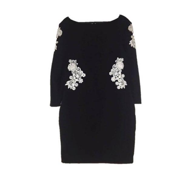 KARIMADON Black Dress