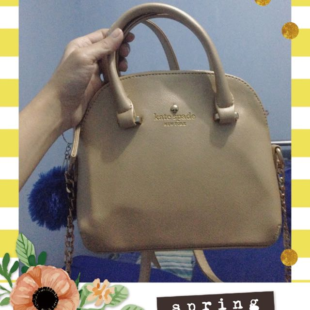 Kate Spade Golden Bag
