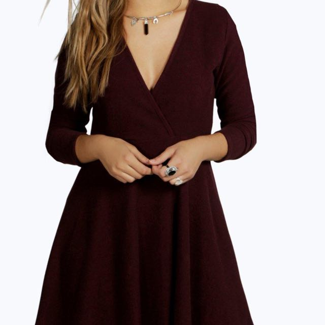 Knitted Skater Dress