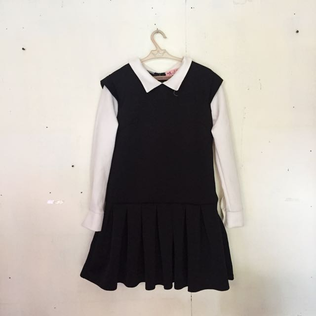 Korean Dress/Peter Pan Collar Dress