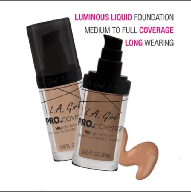 La Girl HD Pro Coverage (free Shiping Maks 30rb)