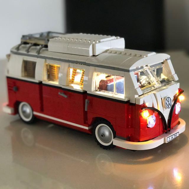 Lego 10220 Lepin 21001 Camper van Led Lighting Kit, Toys & Games ...