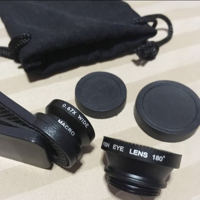 Lens 3 In 1 For Mobile Phone
