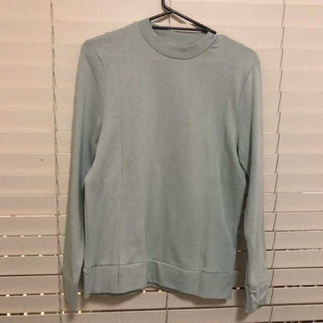 Light Blue Crew Jumper