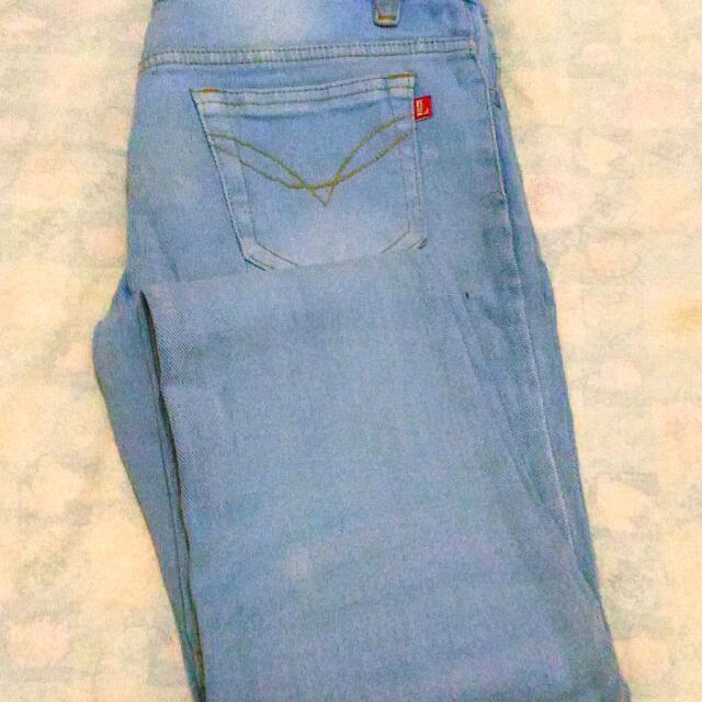 Logo Jeans Soft Blue