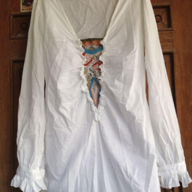 Longsleeve bohemian Dress