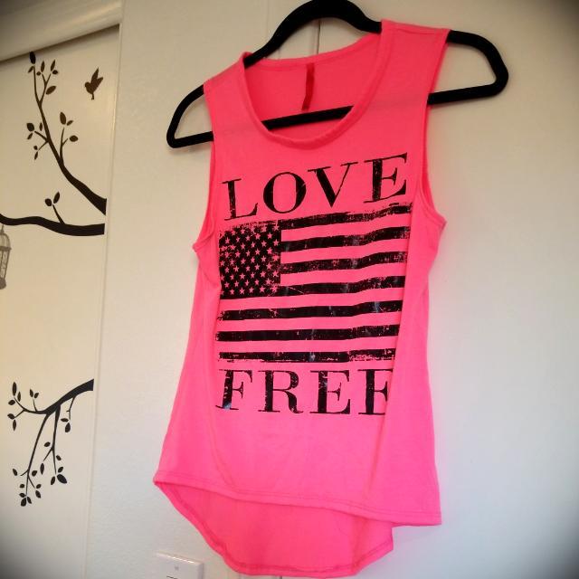 Love Free T Shirt # Pink
