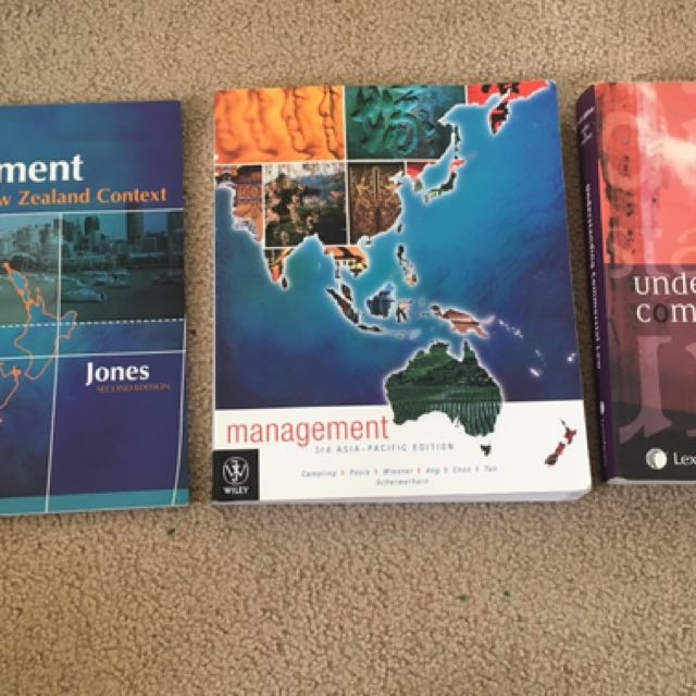 Management/Law textbooks