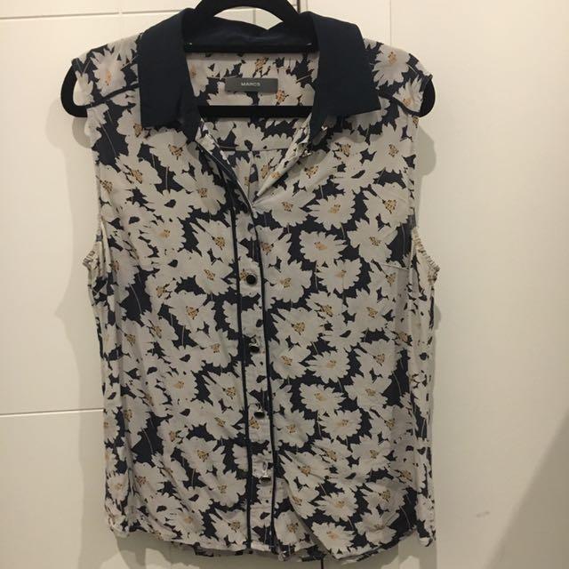 Marcs Sleeveless Shirt Size 12