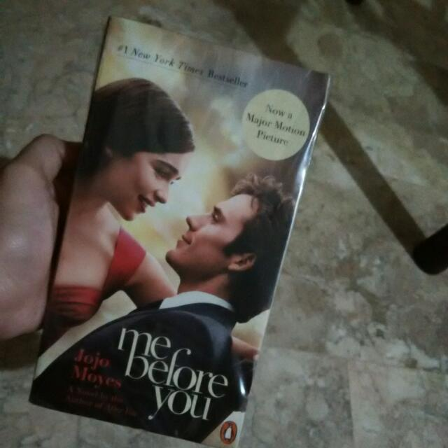 Me Before You Book 💖