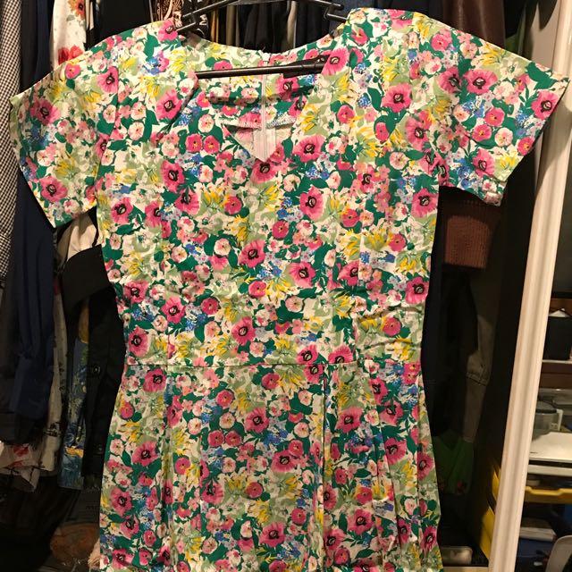 Meg Floral Dress