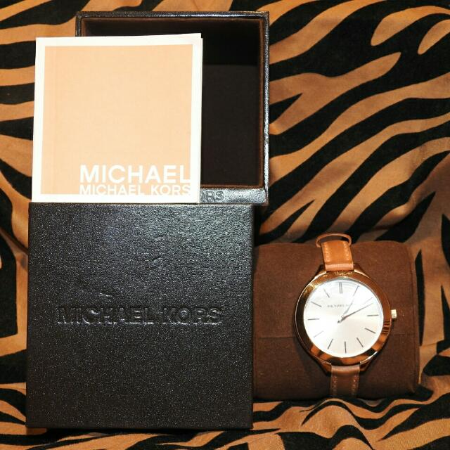 "Michael Kors ""Slim Runway"" Watch"