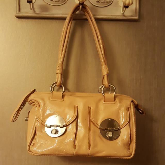 Mimco Turnlock Zip Bag