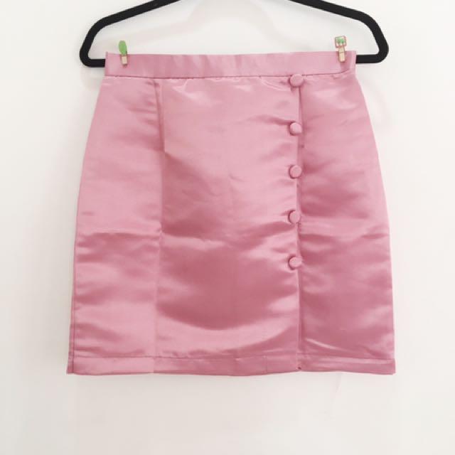 Mini Skirt Pink