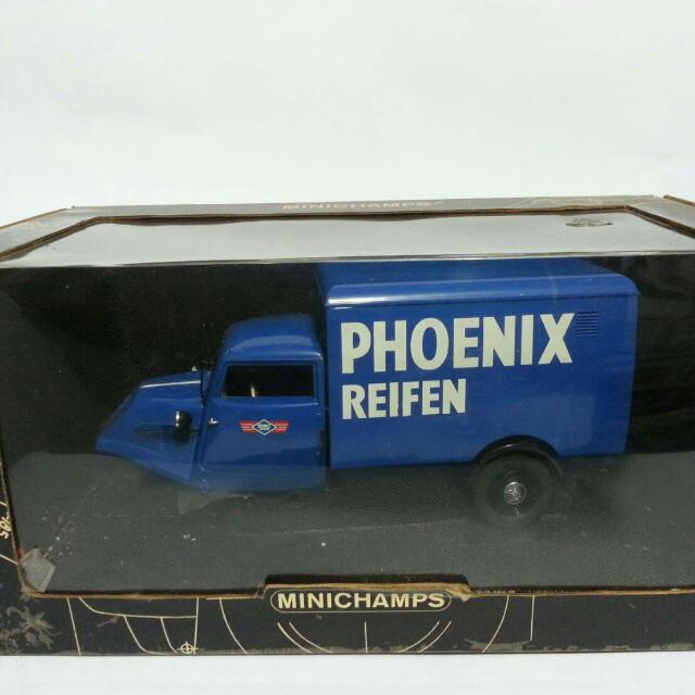 Die Cast Mobil MINICHAMPS Tempo Phoenix Riefen (rare)