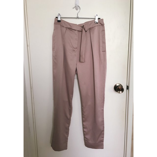 Missguided Petite Satin Pants