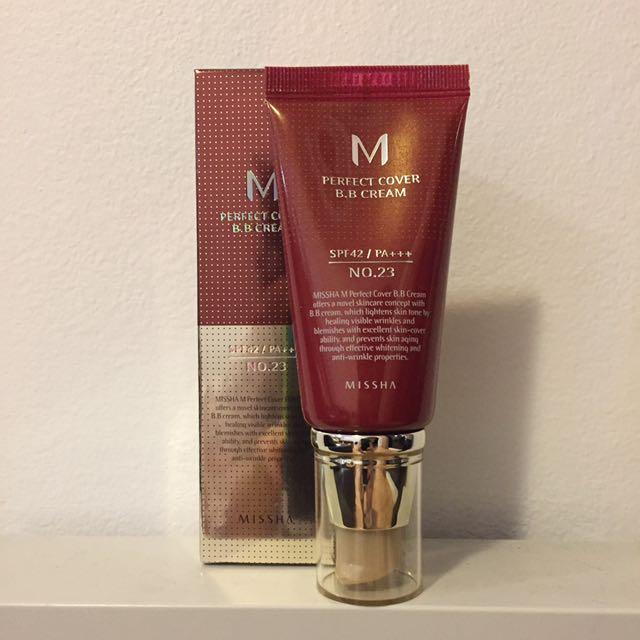 Missha M Perfect Cover BB Cream Shade 21 Or 23