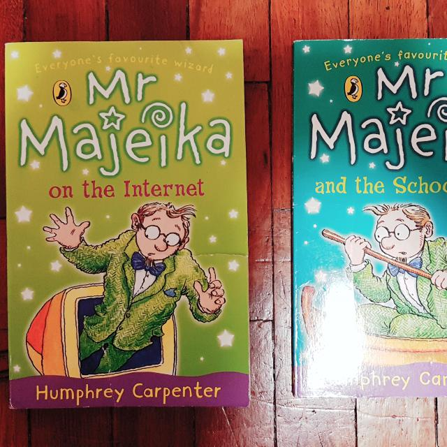 mr majeica books