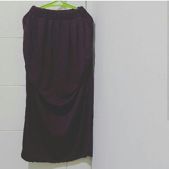 NEW Brown Long Skirt