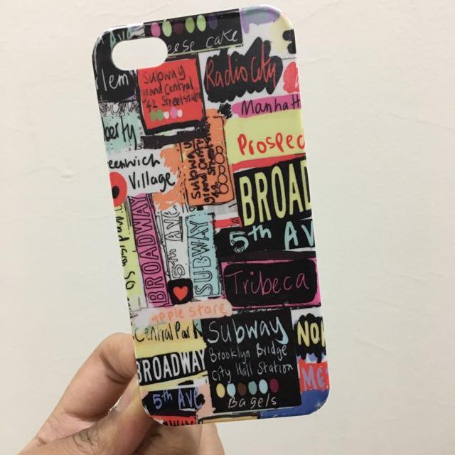 'New York' iPhone 5/5s Case