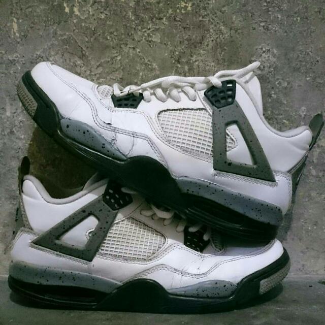 Nike Air Jordan 4 Premium Cement