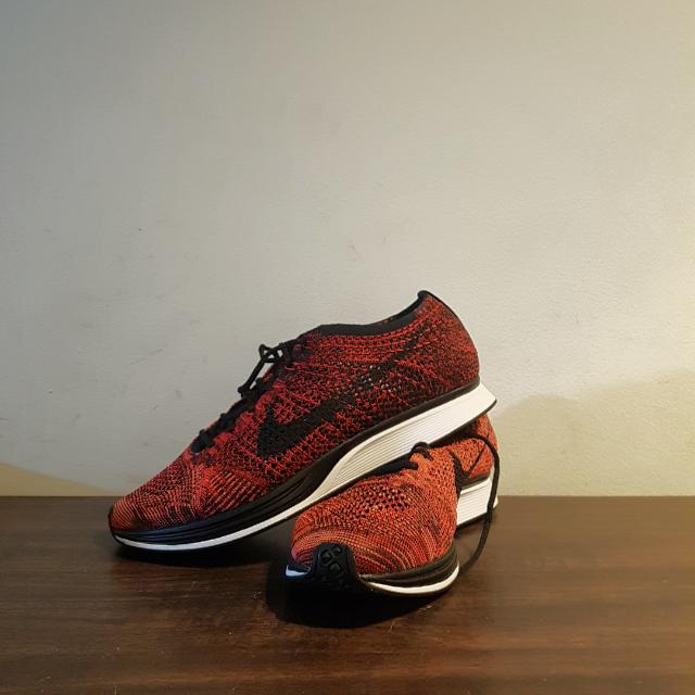 429a5ad23151 ... low price nike flyknit racer fire rooster edition mens fashion footwear  6031f a9cb6