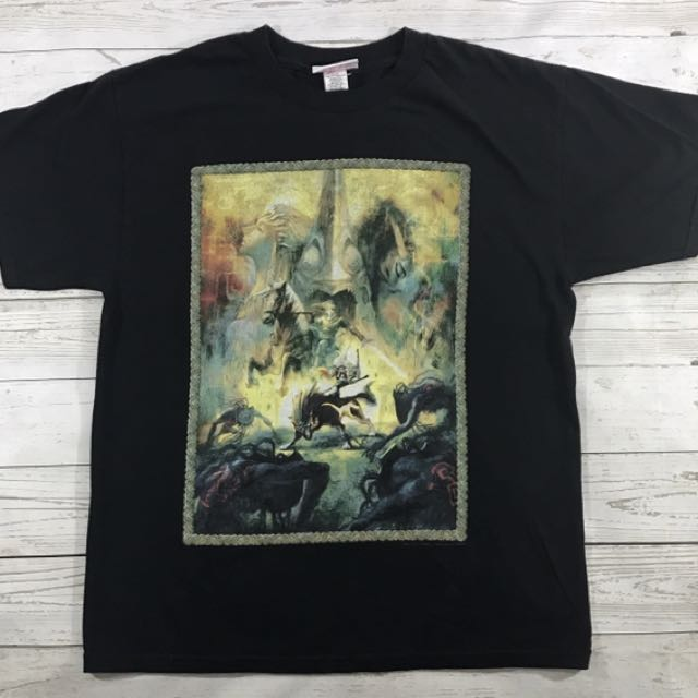 Nintendo Black ZELDA shirt Sz Large