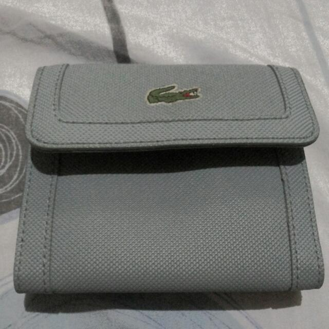 Original (Used) Lacoste Wallet Light Blue