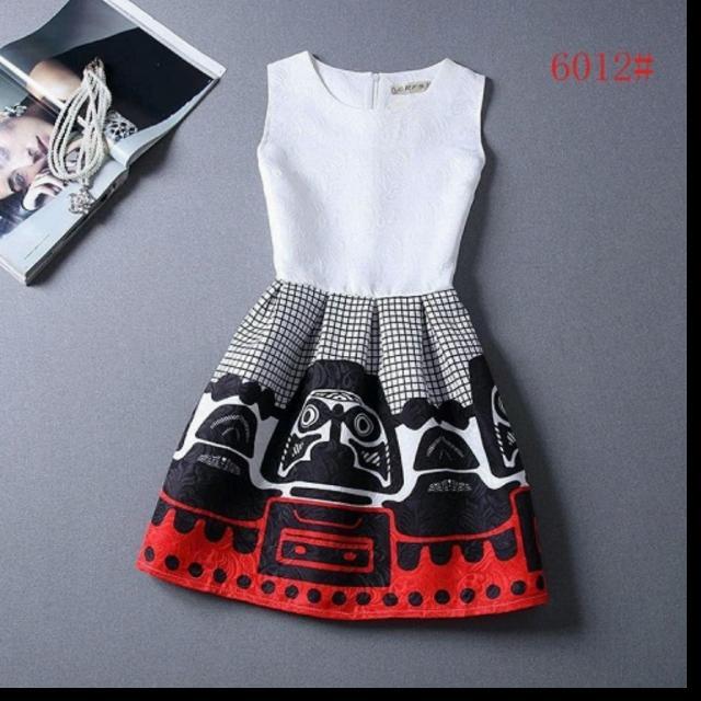 Patterned Dress Size M