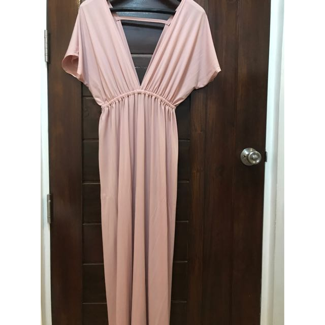 English Rose / Pink Formal Gown / Maxi Dress