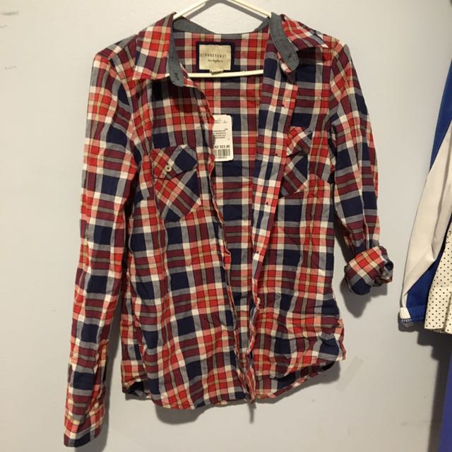Plaid shirt (f21)