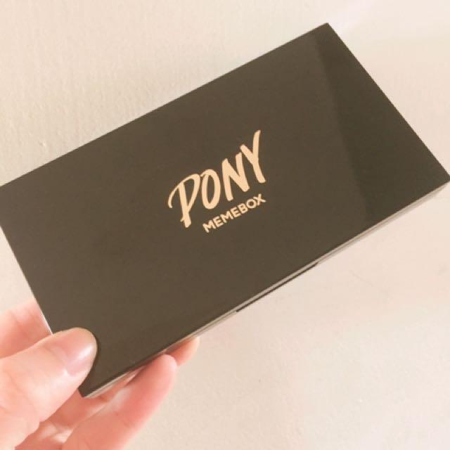 Pony大地係眼影盒MEMEBOX#我有眼彩要賣