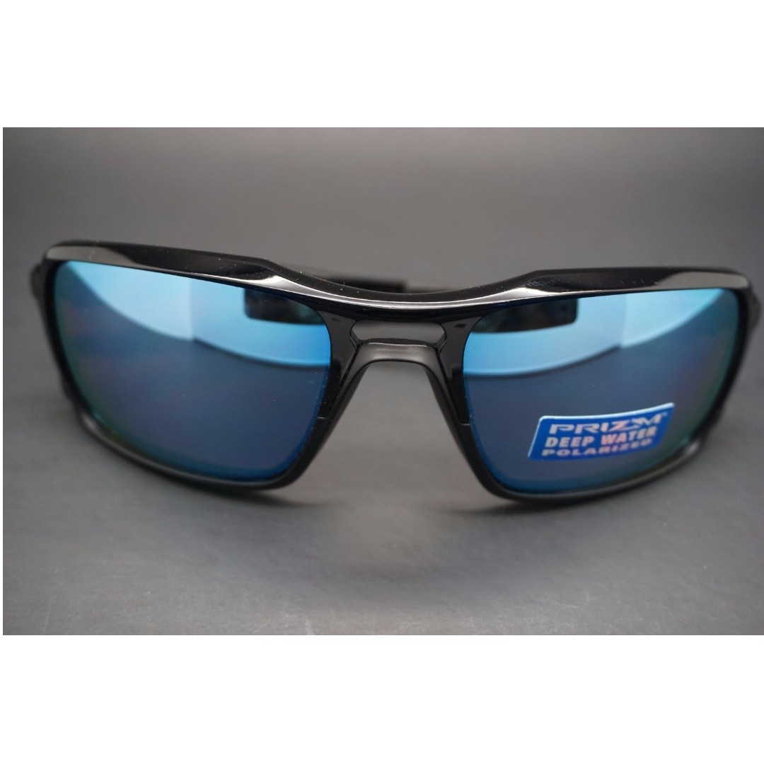 dd8ad87156 Premium Authentic Brand New in Box Oakley oo9266-11 Triggerman Sunglasses  Polished Black   Prizm Deep Water Polarized