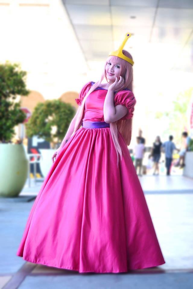 Princess Bubble Gum Costume