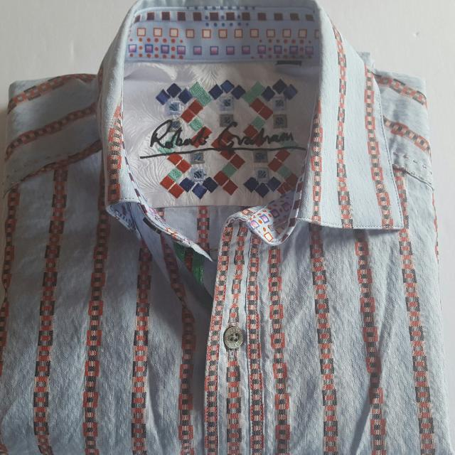 Robert Graham Men's Long Sleeve Shirt Size Small