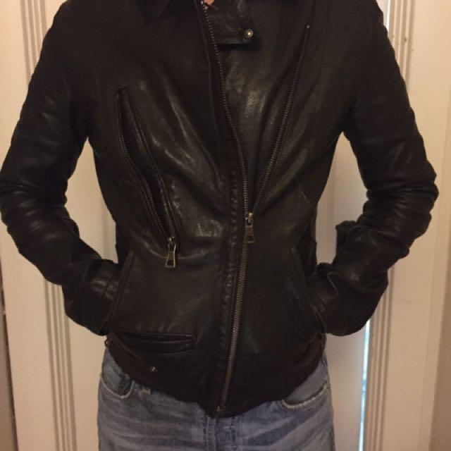 Rudsak Leather Jacket XS