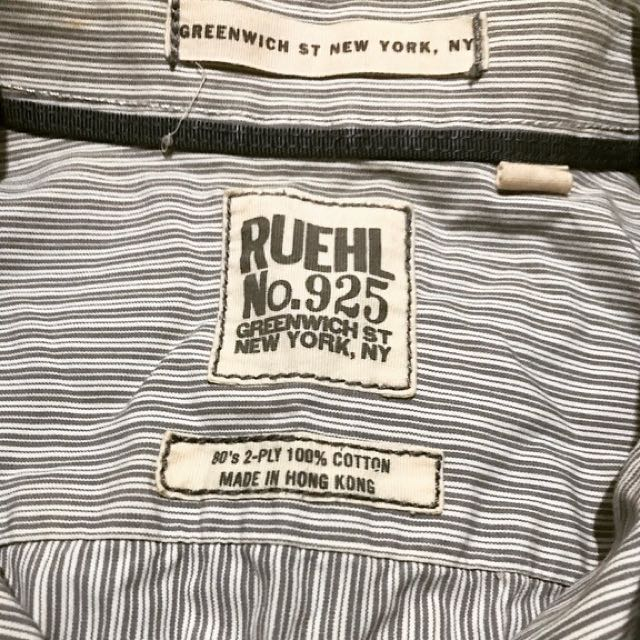 (Re-priced) RUEHL No.925 GREENWICH ST NEWYORK, NY