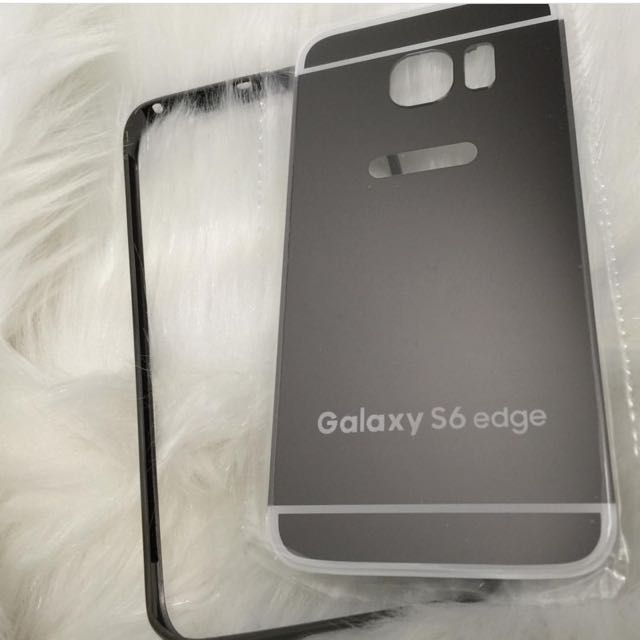S6 Edge Metal Bumper Case