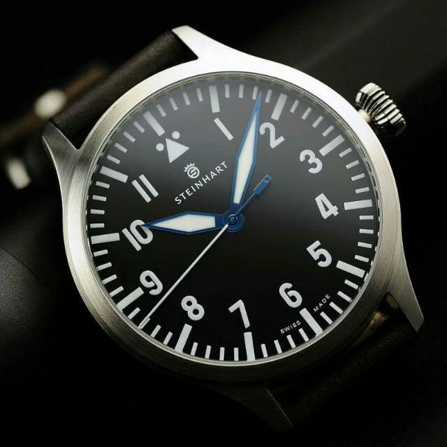 SALE SALE SALE!!  Steinhart Pilot Nav-BUhr Automatic!!