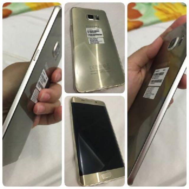 samsung 6 edge 64gb gold plus (+)