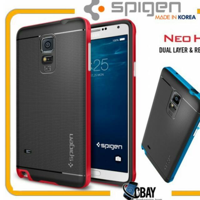 low priced cb5c3 4816b Samsung Galaxy Note 4 Spigen Neo Hybrid Case