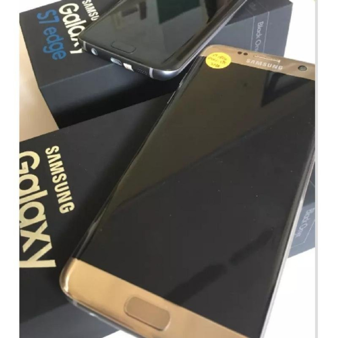 Samsung Galaxy S7 Edge 32gb Black Gold Mobile Phones Tablets Sm G935fd Garansi Resmi Sein Android On Carousell