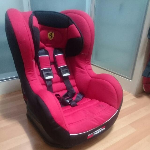 Scuderia Ferrari Baby Car Seat Red Car Accessories On Carousell