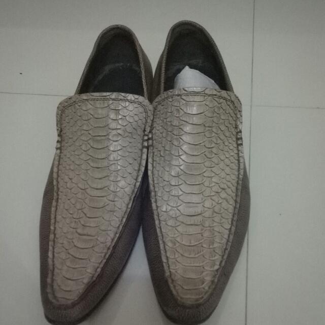 Sepatu Pedro Pantofel Keren Kulit Ular